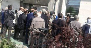 تجمعات اعتراضی اقشار مختلف مردم در گوشه و کنار شهرها در روز دوشنبه ۲۰ فروردین همراه با تصاویر