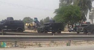 نظامی شدن شهرهای خوزستان در روز سیزده بدر