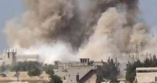 حمله موشکی به مراکز فرماندهی و انبارهای مهمات نیروهای اسد و ایران در سوریه