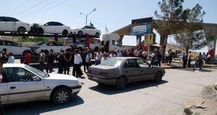 دومین روز اعتصاب سراسری رانندگان کامیون در سراسر کشور