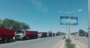 اعتصاب سراسری کامیون داران در سراسر کشور