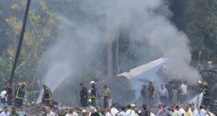 ۱۱۰ کشته در سانحه سقوط هواپیمای مسافربری کوبایی