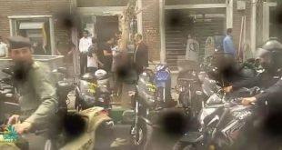 تجمع و راهپیمایی غارت شدگان بانک آینده در جو شدید امنیتی در تهران