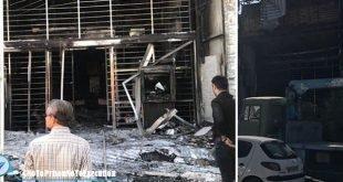 درگیری جوانان و دختران با ماموران نیروی انتظامی در کازرون