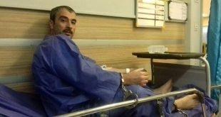 خودداری از درمان زندانی سیاسی حمیدرضا امینی در بیمارستان