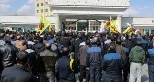اقدام به خودکشی یکی از کارگران هپکو در تجمع اعتراضی صبح امروز
