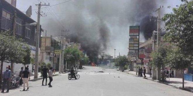 گزارشی از وضعیت شهر کازرون شامگاه شنبه