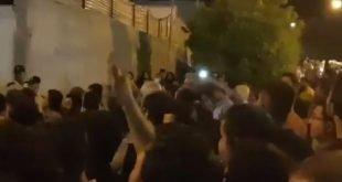 گسترش درگیری و جنگ و گریز در اطراف خیابانهای انقلاب و حمیدی در کازرون