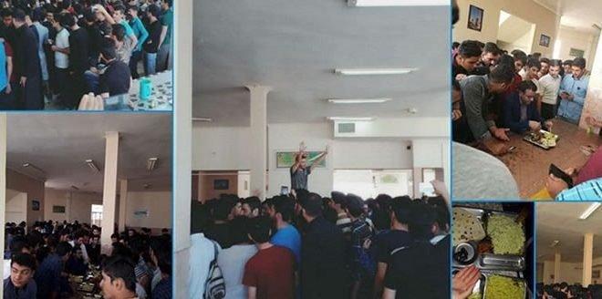 اعتصاب صدها تن از دانشجویان دانشگاه یزد