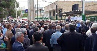 تجمع اعتراضی سراسری معلمان در تهران و شهرهای مختلف کشور و بازداشت تعدادی از معلمان