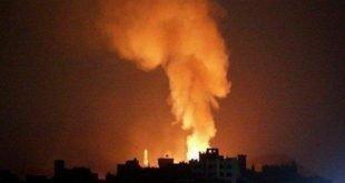 انبارهای اسلحه حزب الله در فرودگاه الضبعه سوریه هدف ۶ موشک قرار گرفت