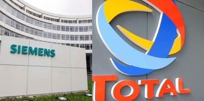 دو شرکت بزرگ اروپایی توتال و زیمنس