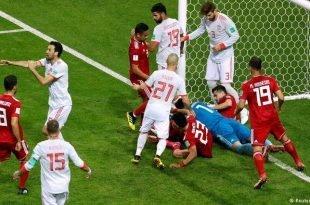 جام جهانی - ایران در مصاف با اسپانیا یک بر صفر شکست خورد