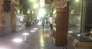 ادامه اعتصاب بازار در فضای به شدت امنیتی در تهران