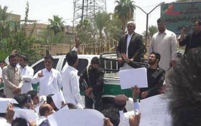 بازداشت تعدادی از تجمع کنندگان مردم ایرانشهر در اعتراض به تجاوز گروهی به زنان