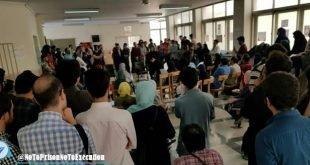 تهدید به لغو امتحانات ترم توسط دانشجویان دانشگاه تهران در پنجمین روز اعتراضات