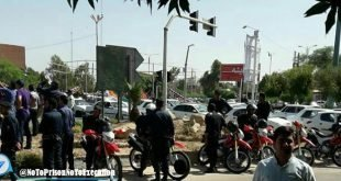 تظاهرات کارگران فولاد اهواز در اعتراض به بازداشت دهها تن از کارگران در شب گذشته