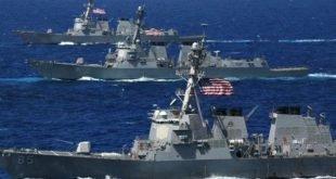 پس از تهدید روحانی مبنی بر بستن تنگه هرمز ارتش آمریکا اعلام کرده که اجازه بسته شدن آبراههای بینالمللی را نمیدهیم
