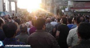راهپیمایی و تظاهرات بزرگ مردم برازجان در اعتراض به بی آبی با شعار دشمن ما همینجاست