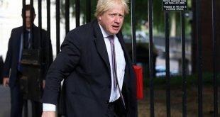 استعفای بوریس جانسون، وزیر خارجه بریتانیا پذیرفته شد