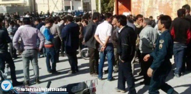 درگیری نیروی انتظامی با مردم کازرون بر سر آب و کشته شدن یکی از اهالی همراه با تصاویر