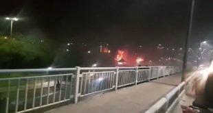 تسخیر خیابانهای خرمشهر تا پاسی از شب با فریاد خامنه ای بی ناموس
