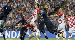 فرانسه قهرمان جام جهانی فوتبال ۲۰۱۸ شد
