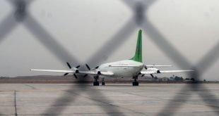 درگیری مردم با مامورین در فرودگاه ایلام