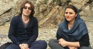 نامه آرش صادقی به همسرش گلرخ ایرایی