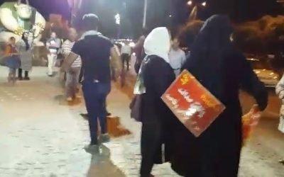 حمله شبانه کارمندان اجیر شده موسسه پدیده به متحصنین غارت شده