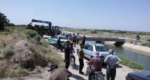 درگیری مردم با ماموران نیروی انتظامی در روستای قرهچال ملکان