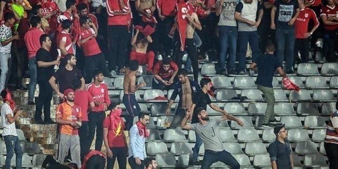 بازداشت ۴۳ نفر در درگیری ورزشگاه آزادی تهران و ضرب و شتم کودکان توسط نیروی انتظامی