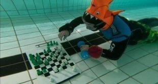برگزاری مسابقات جهانی شطرنج زیر آب در لندن
