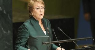 میشل باشله، کمیسر جدید حقوق بشر سازمان ملل