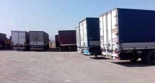 ادامه اعتصاب سراسری رانندگان کامیون و تلاش برای شکستن اعتصاب توسط عوامل حکومتی
