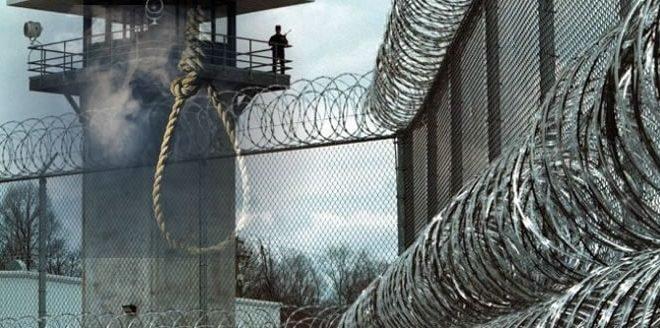 به دار آویختن یک زندانی در زندان سراوان