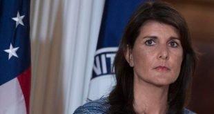 نیکی هیلی سفیر آمریکا در سازمان ملل از مقام خود استعفا داد