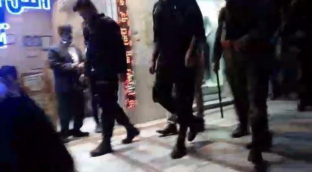 حمله نیروی انتظامی به دستفروشان فردیس کرج