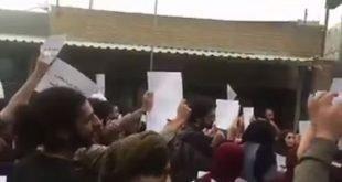 ویدئویی از حمایت دانشجویان دانشگاه هنر تهران از اقشار مختلف
