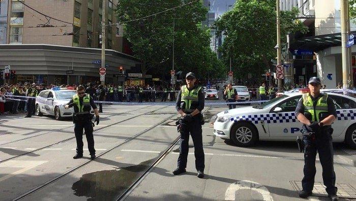 پلیس استرالیا حمله با چاقو در خیابانهای ملبورن را سوءقصد تروریستی دانست