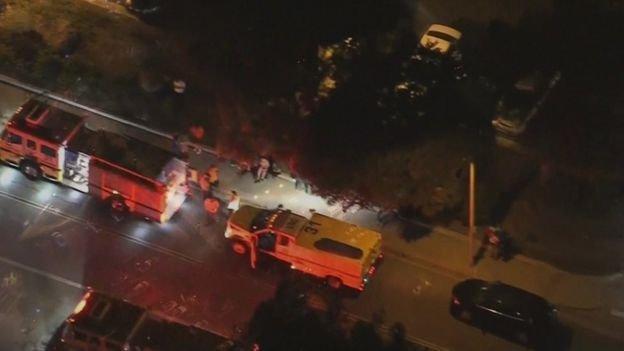 در جریان یک تیراندازی در کالیفرنیا ۱۳ نفر کشته شدند