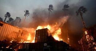 تلفات بزرگترین آتش سوزی تاریخ کالیفرنیا به ۲۹ نفر رسید