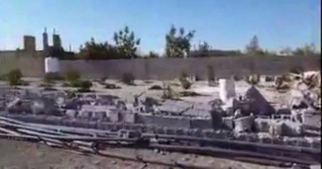 با خاک یکسان کردن خانه های مردم توسط شهرداری مرودشت