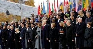 مراسم یکصدمین سالگرد پایان جنگ جهانی اول