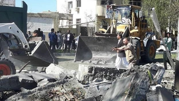 انفجار در چابهار تعدادی کشته و زخمی برجای گذاشت