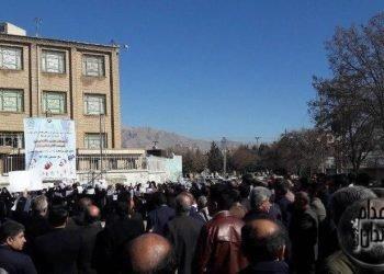 تجمع اعتراضی همزمان فرهنگیان در شهرها و استانهای مختلف کشور همراه با فیلمها و تصاویر