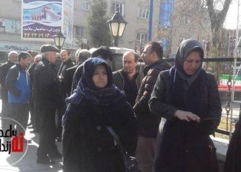 هجوم مأموران حکومتی به تجمع فرهنگیان در ارومیه و بازداشت چند تن از آنان