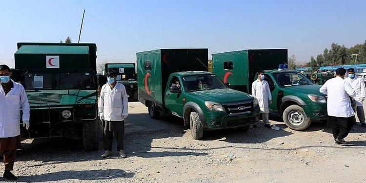 انفجار انتحاری در نزدیکی فرودگاه جلالآباد افغانستان