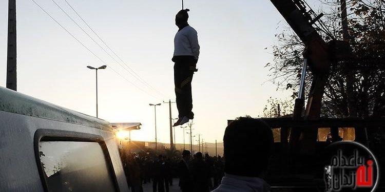 اعدام یک زندانی در ملاعام در جهرم در آستانه سال نو