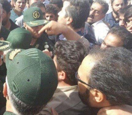 درگیری مردم در استان گلستان با نیروهای سپاه و کتک زدن یکی از عوامل آنها